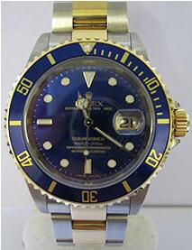 Rolex Submariner blue kit