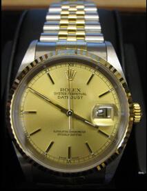 Gents Bi metal Rolex Oyster16233