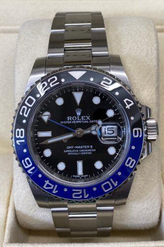 Rolex Batman GMT2